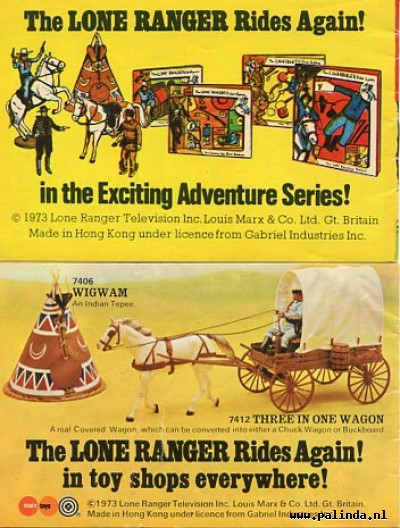 Lone ranger, the : The story of the lone ranger / The lost cavalry patrol. 2