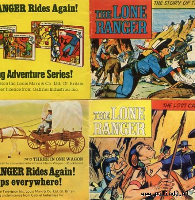 Lone ranger, the : The story of the lone ranger / The lost cavalry patrol. 3