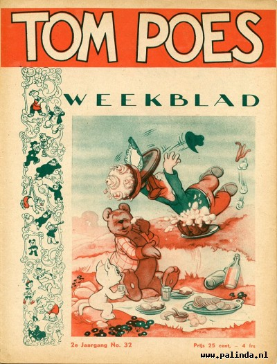 Tom Poes weekblad 2e jr.gang : Tom Poes weekblad. 1